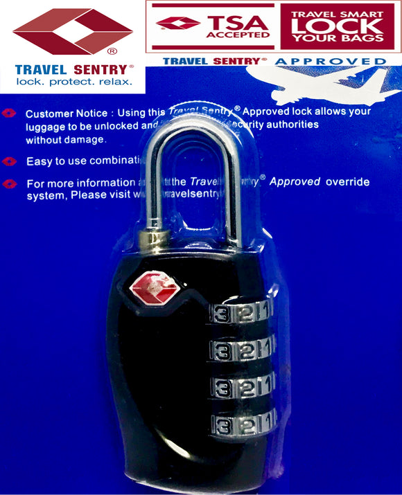 TSA APPROVED LUGGAGE LOCK