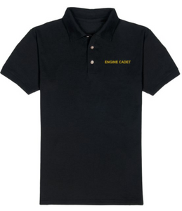 T-Shirt-Black-ENGINE CADET