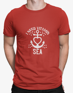 SAILING SPIRIT T-shirt-RED