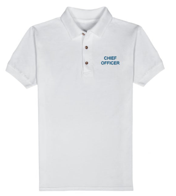 CHIEF OFFICER T-Shirt-White