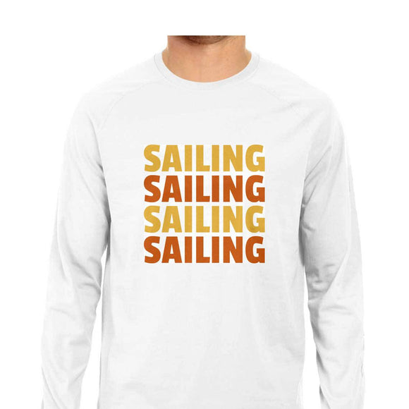 Sailing T-shirt -White-F/S