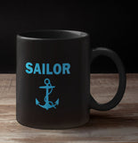 Designer Mug-Full Black-SAILOR