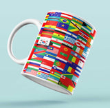 Designer Mug-Flags