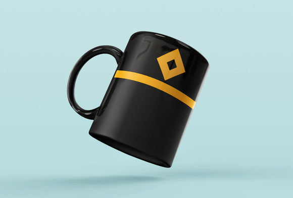 Rank Mug-Full Black-Third Officer