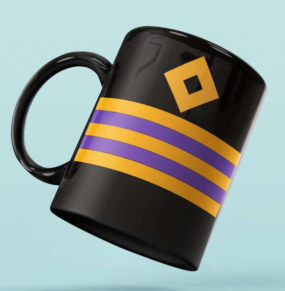 Rank Mug-Full Black-Second Engineer