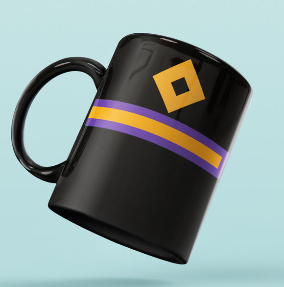 Rank Mug-Full Black-Fourth Engineer