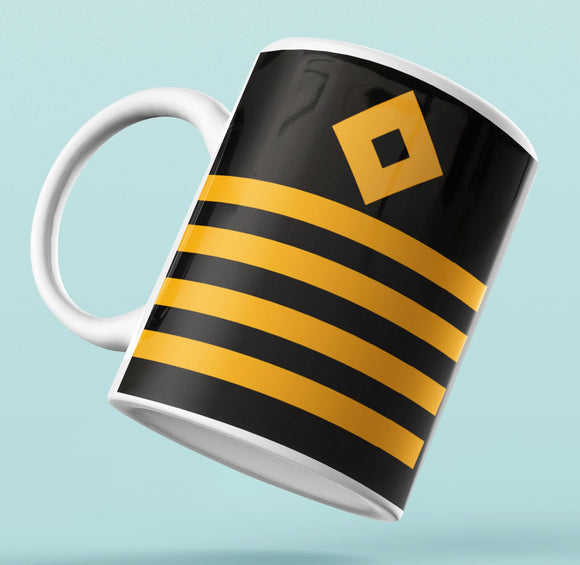 White Rank Mug-Captain