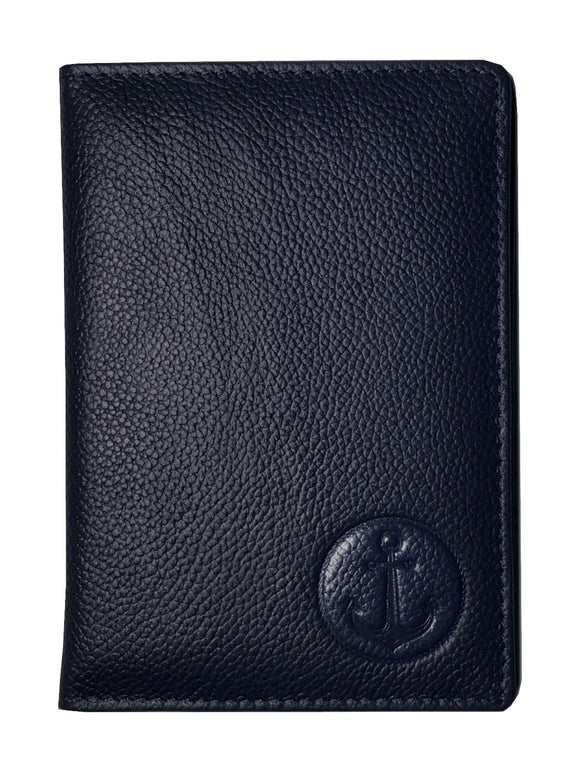Premium Quality Passport/CDC/COC Holder-Dark Blue