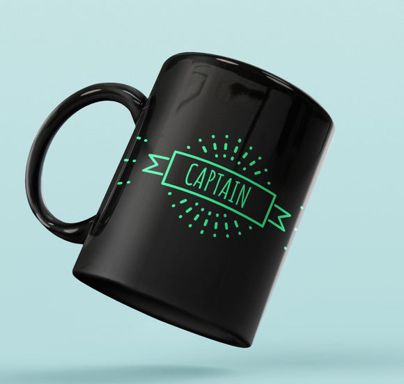 Designer Mug-Captain with Splash Design