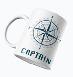 Designer Mug-Captain with Compass Design