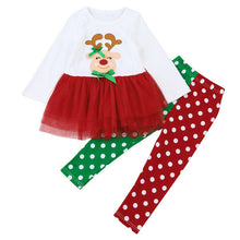 Christmas baby girl outfit