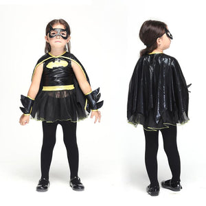 Bat girl Halloween costume
