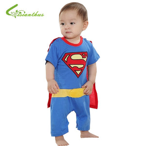 Superman Batman Short Sleeve Halloween Costume