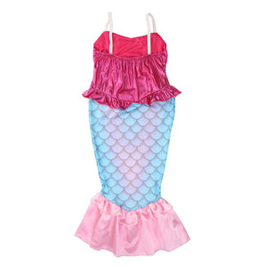 Cute Mermaid Dress Halloween Costume