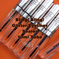Bling! Bling! Glitter Glue Adhesive Eyeliner Wet Liner Sealer 10ml Tube with Brush