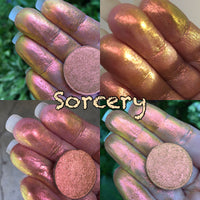 Sorcery ~ Mega Shifting Pressed Multi Chrome Eyeshadow