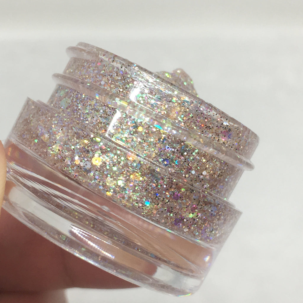 Sand Castle Glitter Jelly Gel