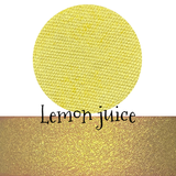 Lemon Juice Pressed Eyeshadow