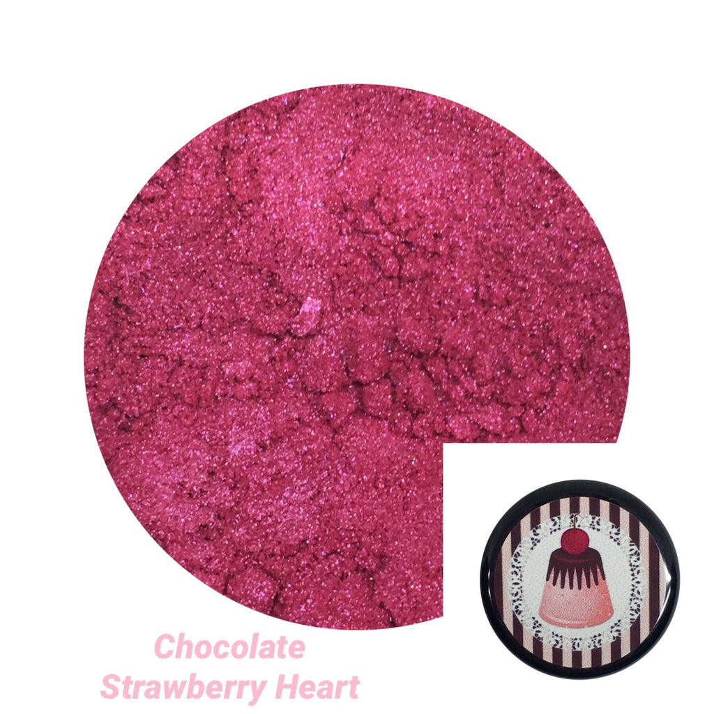 Chocolate Strawberry Heart Loose Eyeshadow