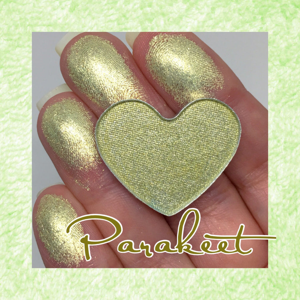 Parakeet Pressed Foiled Eyeshadow