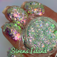 SIRENS ISLAND ~ Multi Chrome Eyeshadow Flakes