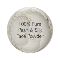 100% Pure Pearl & Silk Loose Face Powder