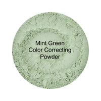 Mint Green Color Correcting Loose Face Powder Concealer