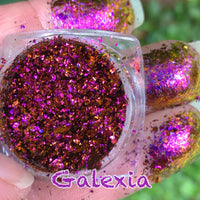 Galexia ~ Multi Chrome Eyeshadow Flakes