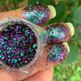 Halley's Comet ~ Multi Chrome Eyeshadow Flakes