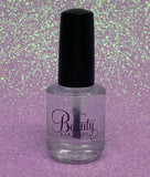 Sparkle Me Up ~ Clear Quick Dry Top Coat Nail Polish QDTC