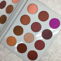 12pc Pressed Eyeshadow Palette