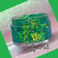 LILY PAD Jelly Glitter