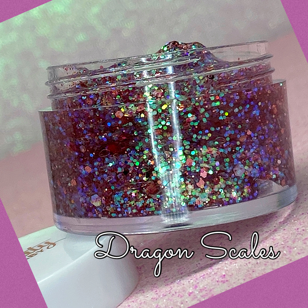 DRAGON SCALES Jelly Glitter