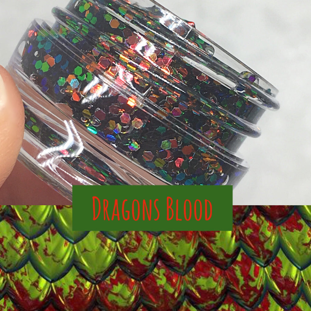 Dragon's Blood Glitter Jelly Gel