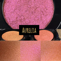Aurelia Pressed Tri Chrome Color Shifting Eyeshadow
