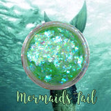 Mermaids Tail ~ Multi Chrome Eyeshadow Flakes