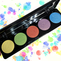 5pc Duo Chrome Eyeshadow Palette
