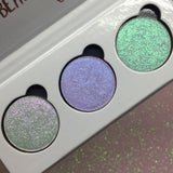 Blue Lightning ~ 3pc Face & Eyeshadow Palette