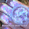 Rainbow Horizon ~ Multi Chrome Eyeshadow Flakes