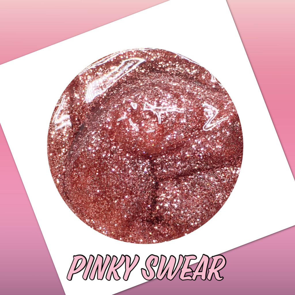 Pinky Swear Glitter Lip Potion Lip Gloss Pot
