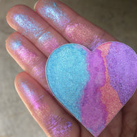 Sweetheart Pressed Jumbo Heart Shaped Prismatic Highlighter Eyeshadow