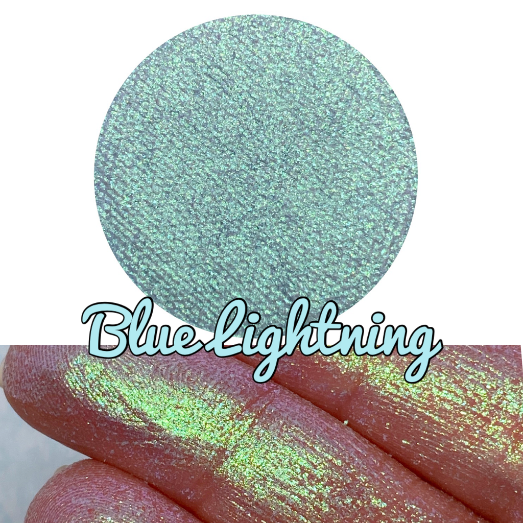 BLUE LIGHTNING ~ Pressed Chameleon Eyeshadow