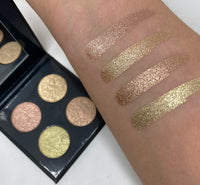 Bear Themed Foiled Metallic Highlighter & Eyeshadow Quad