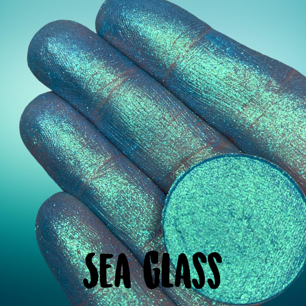 SEA GLASS ~ Pressed Chameleon Eyeshadow