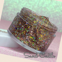 SAND CASTLE Jelly Glitter