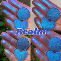 Realm ~ Mega Shifting Multi Chrome Pressed Eyeshadow