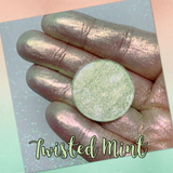TWISTED MINT ~ Marbled Chameleon Pressed Eyeshadow