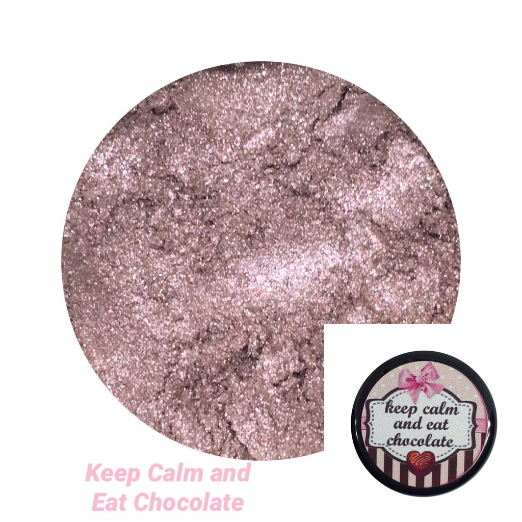 Keep Calm and Eat Chocolate Loose Eyeshadow