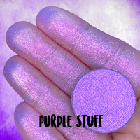 PURPLE STUFF ~ Pressed Pastel Chameleon Eyeshadow Highlighter