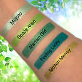 5pc Green Pressed Eyeshadow Palette